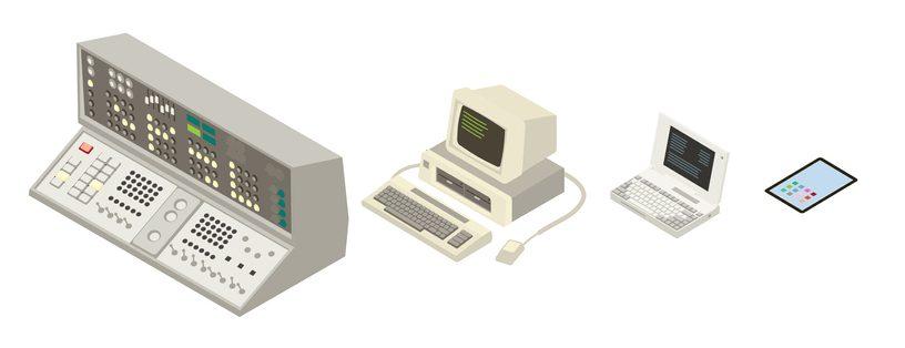 PCの進化の歴史