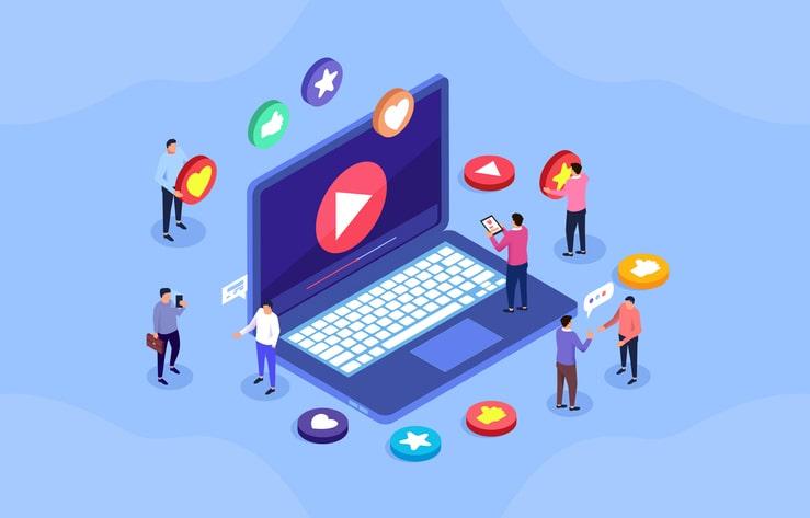 動画マーケティングのイメージ