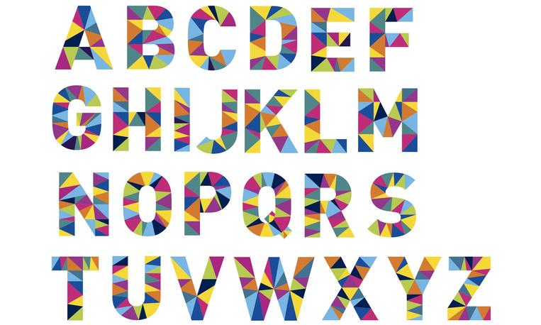 A~Zのアルファベット文字