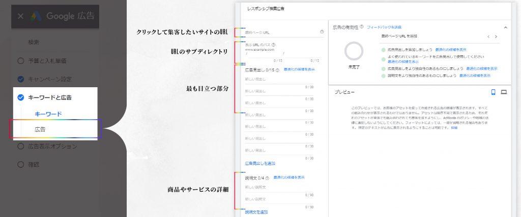 GoogleAds広告設定